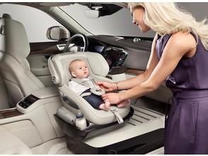 Все лучшее - детям: Volvo представили концепт детского кресла