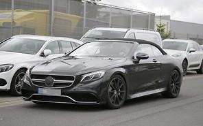 В Mercedes-Benz готовят «горячий» кабриолет S-класса