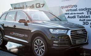 Минулі вихідні запам'ятались яскравою презентацією довгоочікуваної новинки «чотирьох кілець» Audi Q7!