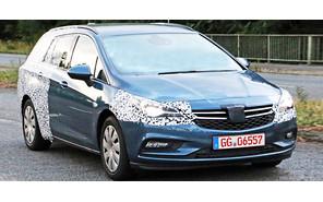 Универсал Opel Astra Sports Tourer появится в следующем году