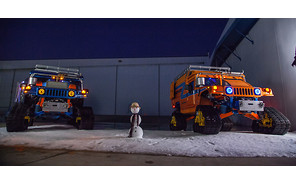 Американцы отправятся на Южный полюс на гусеничных Хаммерах