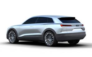 В сети появились первые изображения прототипа Audi Q6 e-tron