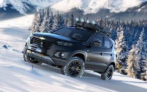 Внедорожник Chevrolet Niva нового поколения в деталях