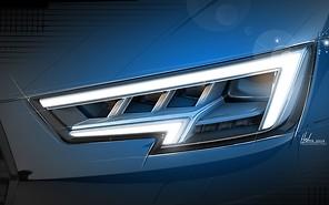 В Audi рассказали о фарах новой A4