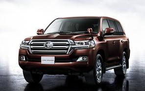 Внедорожник Toyota Land Cruiser 200 обновился