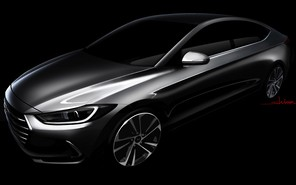 Hyundai рассекретил дизайн новой Elantra