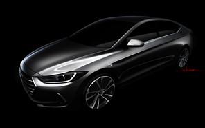 Hyundai показала салон новой Elantra