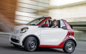Smart представил новый кабриолет Fortwo
