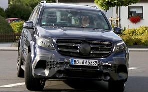 Mercedes готовит AMG-версию кроссовера GLS