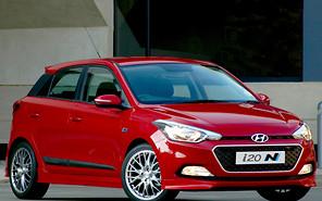 Hyundai представил «заряженую» версию хэтчбека i20
