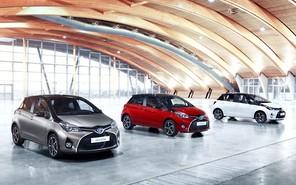 Новая Toyota Yaris получит двухцветную окраску кузова