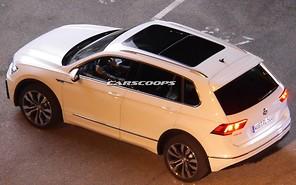 Внешность нового Volkswagen Tiguan рассекретили