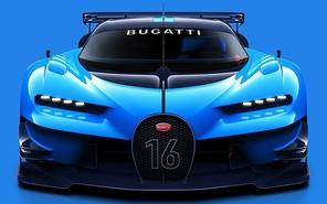 Bugatti представила виртуальный суперкар
