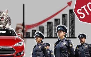 Важное за неделю: Изменения в ПДД, рекордные продажи электромобилей в Украине, снова о полиции и полтора кота