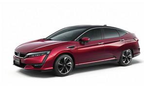 Серийный Honda FCV на водороде представят в следующем месяце