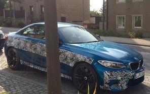 Обновленное купе BMW M2 рассекретили до премьеры