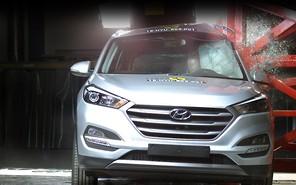 Новый Hyundai Tucson получил 5 звезд Euro NCAP