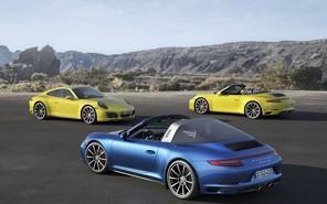 Porsche 911 Carrera 4 и 911 Targa 4 получили новый турбомотор