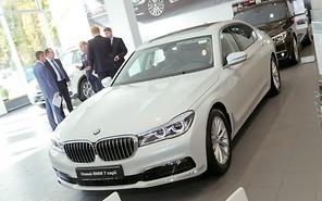 BMW 7 Series уже официально в Украине