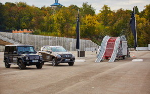 В Киеве прошел Mercedes-Benz Star Experience