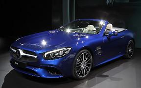 Автосалон в Лос-Анджелесе 2015: Родстер Mercedes-Benz SL обновился