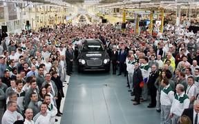 Bentley выпустила первый экземпляр Bentayga