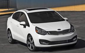 Седан Kia Rio назван самым худшим новым автомобилем