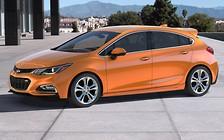Chevrolet показал новый хэтчбек Cruze