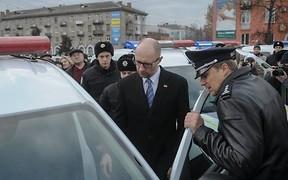 Автопарк полиции пополнился новыми машинами