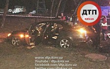 Видео: Полицейская погоня в Киеве закончилась смертью одного из нарушителей