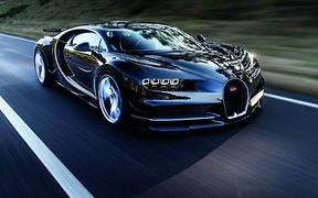 Новый Bugatti Chiron за $2,6 млн разгоняется до 420 км/ч