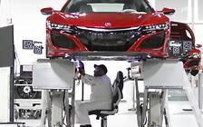 Суперкар Acura NSX встанет на конвейер в апреле
