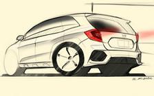 Первое изображение нового Honda CR-V