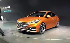 Корейцы показали как будет выглядеть Hyundai Accent следующего поколения