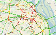 Центр Киева застыл в пробках