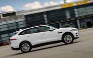 На взлет: Кроссовер Jaguar F-Pace презентовали в аэропорту