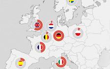 Инфографика: Какие машины чаще всего покупают европейцы?
