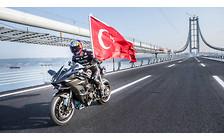 Мировой рекорд: Серийный мотоцикл разогнали до 400 км/час