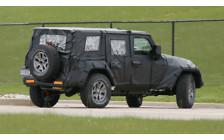 Следующее поколение внедорожника Jeep Wrangler уже на подходе