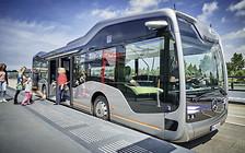 На следующей остановке: Автобус с автопилотом Mercedes-Benz Future Bus
