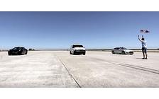 Видео: Минивэн «наказал» Tesla Model S и Ferrari California в драг-рейсинге