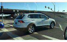 Удлиненный Volkswagen Tiguan засекли на дороге