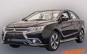 Грубая огранка: В Сети появились первые фотографии нового Mitsubishi Lancer