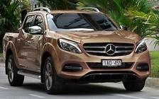 Премьера пикапа Mercedes пройдет в 2017 году