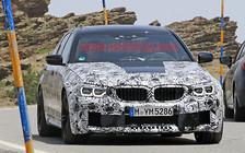 Попался: Новый BMW M5 снова засекли на дороге