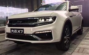Узнаю брата Колю: китайский клон Volkswagen CrossBlue Coupe