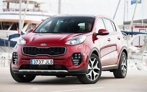 Инновационный кроссовер Kia Sportage стал самым популярным автомобилем июня в Украине!