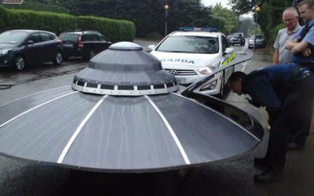 Выкуси, Малдер: Полиция задержала НЛО.