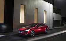 Американцам представили обновленные Mazda6 и Mazda3