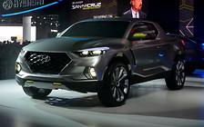 Hyundai построит новый пикап на платформе Тусана